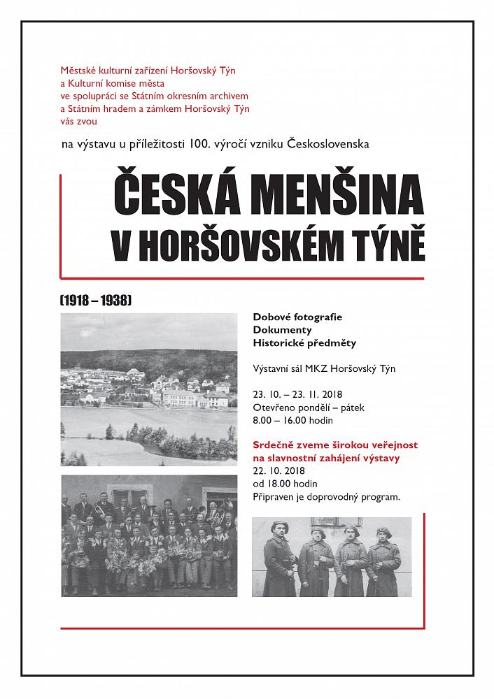 Česká menšina v Horšovském Týně