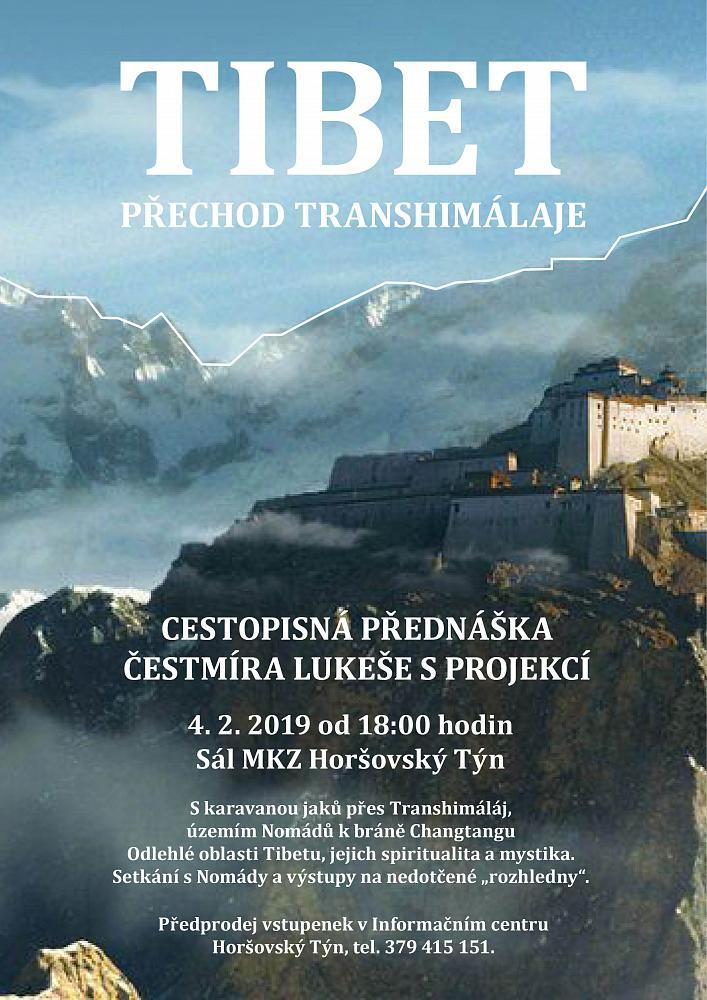 CESTOPISNÁ PŘEDNÁŠKA - TIBET, PŘECHOD TRANSHIMALÁJE 1