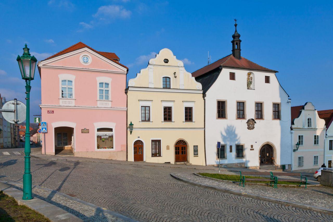 Informační centrum a historická budova radnice